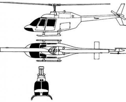 Bell 206 OH-58A Kiowa [LIMITED to 500px]