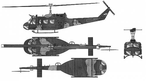 Bell 214 UH-1H Heuy [LIMITED to 500px]